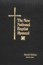 The New National Baptist Hymnal-Leather Pulpit Edition   -