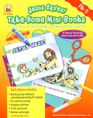 Jesus Saves! Take-Home Mini-Books Grades PK-2   -     By: Sandy Wardman