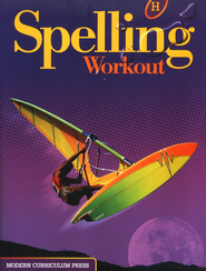 Spelling Workout 2001/2002 Level H Student Edition   -