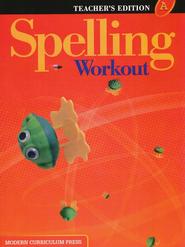Spelling Workout 2001/2002 Level A Teacher Edition   -