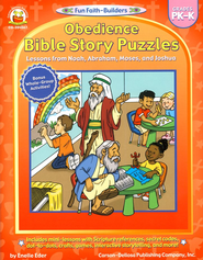 Obedience Bible Story Puzzles Grades PK-K   -     By: Enelle Eder