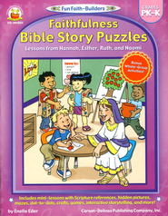 Faithfulness Bible Story Puzzles Grades PK-K   -              By: Enelle Eder