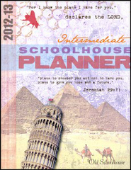 2012-13 Intermediate Schoolhouse Planner - PDF Download  [Download] -     By: The Old Schoolhouse