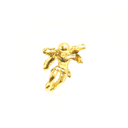 Angel Lapel Pin, Gold Plated  -