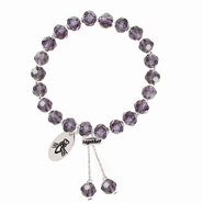 Someone To Watch Over Me Bracelet, Amethyst  -