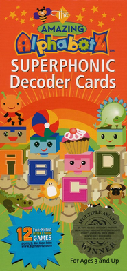 Alphabotz Superphonic Decoder Cards   -