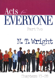Acts for Everyone: Part 2, Chapters 13-28 (original cover)    -     By: N.T. Wright