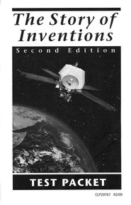 The Story of Inventions, Second Edition Test Packet   -     By: Frank P. Bachman