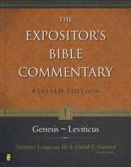 The Expositor's Bible Commentary: Genesis-Leviticus, Revised   -     Edited By: Tremper Longman III, David E. Garland     By: John H. Sailhamer, Walter C. Kaiser, Jr. & Richard S. Hess