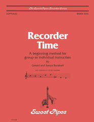 Recorder Time, Book 1   -