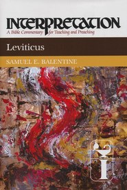 Leviticus, Interpretation Commentary  -     By: Samuel E. Balentine