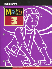 BJU Math Grade 3 Reviews Activity Book, Third Edition   -