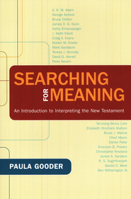 Searching for Meaning: An Introduction to Interpreting the New Testament  -     By: Paula Gooder
