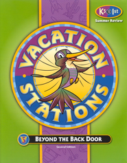 BJU Vacation Stations Book 1: Beyond the Back Door Grades K5-1  Updated Version  -