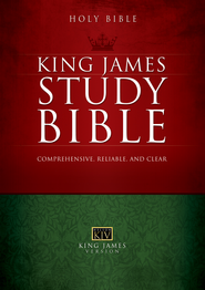 The King James Study Bible - eBook  -