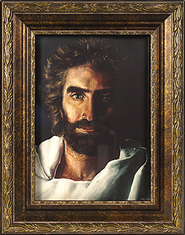 Prince of Peace, Easel Back Framed Print  -              By: Akiane Kramarik