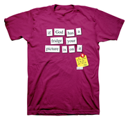 If God Had a Fridge Shirt, Magenta, Small  -