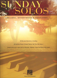 Sunday Solos for Piano-Preludes, Offertories and Postludes (Piano Solo)  -