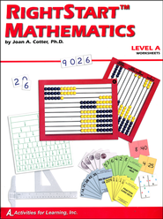 Rightstart Mathematics Level A Worksheets   -