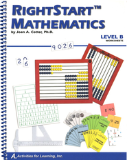 Rightstart Mathematics Level B Worksheets   -