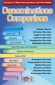 Denominations Comparison - eBook  -     By: Robert Bowman