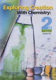 Exploring Creation with Chemistry, 2nd Edition, Full Course CD-ROM, Version 9.0  -