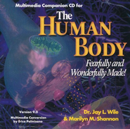 The Human Body, Advanced Biology, Companion CD-ROM, Version 9.0  -