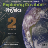 Exploring Creation with Physics, 2nd Edition, Companion CD-ROM, Version 9.0  -