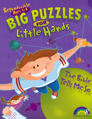 Big Puzzles for Little Hands: The Bible Tells Me So, Ages 3-8   -     By: Carla Williams     Illustrated By: Chuck Galey