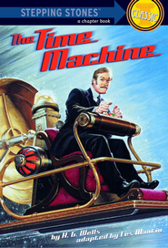 The Time Machine - eBook  -     By: H.G. Wells, Les Martin