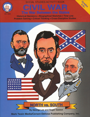 Civil War; The War Betweem The States GR 5-8+   -     By: George Lee, Roger Gaston