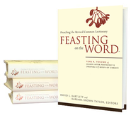 Feasting on the Word, Year B, 4-Volume Set  -     Edited By: David L. Bartlett, Barbara Brown Taylor     By: David L. Bartlett(Eds.) & Barbara Brown Taylor(Eds.