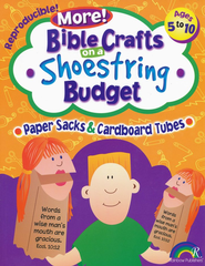 More! Bible Crafts on a Shoe String Budget: Paper Sacks &    -     By: Pamela Kuhn