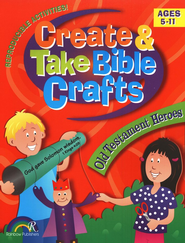 Create & Take Bible Crafts Old Testament Heroes  -