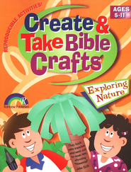 Create & Take Bible Crafts Exploring Nature  -