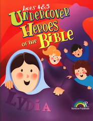 Undercover Heroes of the Bibles, Ages 4-5   -