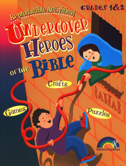 Undercover Heroes of the Bible, Grades 1-2   -