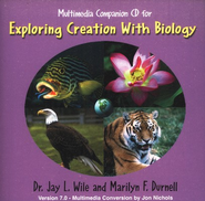 Exploring Creation with Biology, Companion CD-ROM (1st Edition)  -     By: Dr. Jay L. Wile