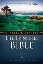 The Charles F. Stanley Life Principles Bible, NKJV - eBook  -     By: Charles Stanley, ed.