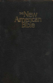 NABRE Gift & Award Bible--Imitation Leather, Black  -
