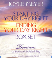 Starting Your Day Right/Ending Your Day Right Audiobook on CD  -     By: Joyce Meyer