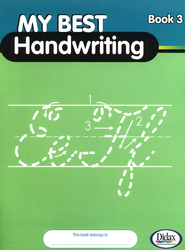 My Best Handwriting, Book 3, Grades K-3   -