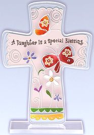 A Daughter is a Special Blessing Cross  -