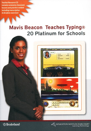 Mavis Beacon Teaches Typing Version 20 for Schools CD-ROMs  -