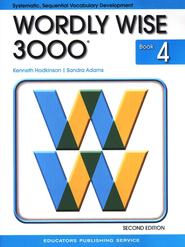 Wordly Wise 3000, Grade 4, 2nd Edition  -