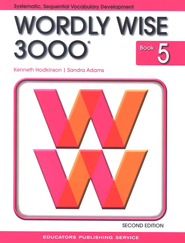 Wordly Wise 3000, Grade 5, 2nd Edition  -