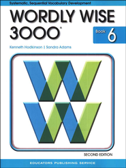 Wordly Wise 3000, Grade 6, 2nd Edition  -