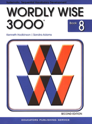 Wordly Wise 3000, Grade 8, 2nd Edition  -