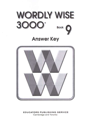 Wordly Wise 3000, Grade 9, Answer Key for Student Text  -