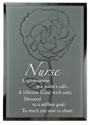 Nurse Mirror Plaque  -